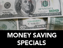 Money Saving Specials
